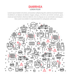 Medical diarrhea vector