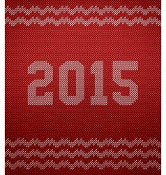 Knitted texture 2015 vector image