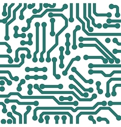 high tech background Processor chip vector image