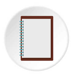 Sketchbook icon circle vector