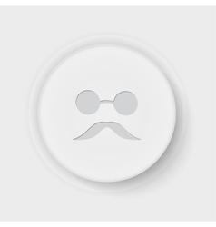 Blind button vector