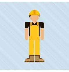 Worker avatar design vector