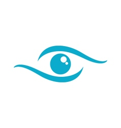 Eye care logo vector