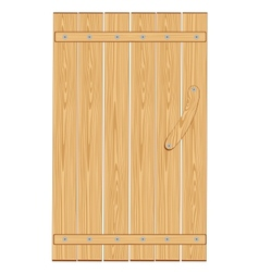 Barn door vector