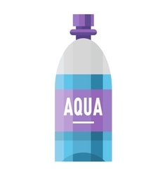Sports water bottle vector image