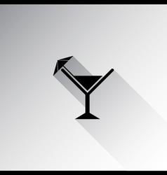 Wine glass icon vector image vector image