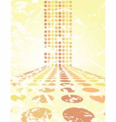 dot background vector image