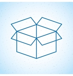Box icon design vector