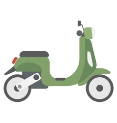 Modern classic scooter vector