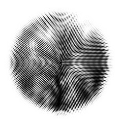 Halftone circles halftone pattern dot vector