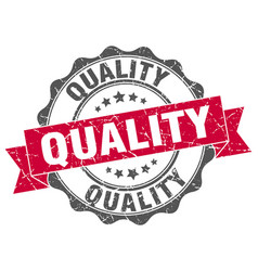 Quality stamp sign seal vector
