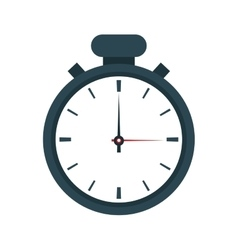 Chronometer time seconds design vector
