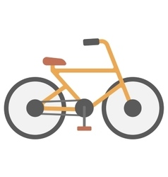 New classic bicycle vector