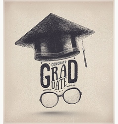 Graduation Year vector image