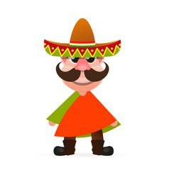 hot mexican logo vector image vector image