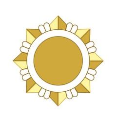 Medal award icon Gold star vector image vector image
