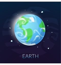 The planet Earth vector image vector image