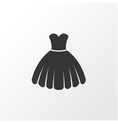 Dress icon symbol premium quality isolated vector