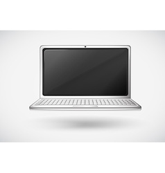 A laptop vector