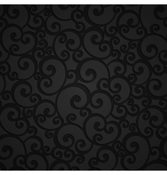 Floral Swirl Damask Seamless Pattern vector image