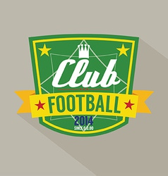 Soccer or football badge vector