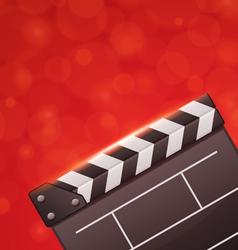 film cinema background vector image