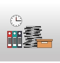 Office equipment design vector