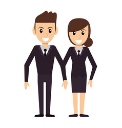 Couple people relationship image vector
