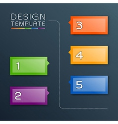 Design Template vector image