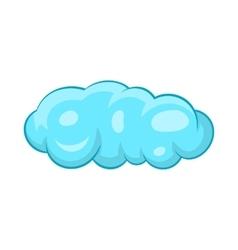 Cloud icon in cartoon style vector