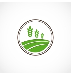 Agro stamp vector