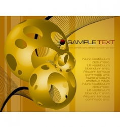 fantasy background vector image vector image