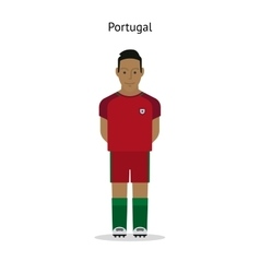 Football kit portugal vector