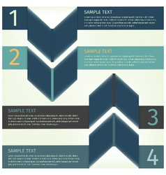 infographics design template banner vector image vector image