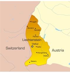 Liechtenstein country vector image vector image