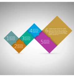 Progress steps for your presentation vector