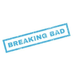 Breaking bad rubber stamp vector
