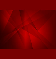 abstract geometric red color with copy space vector image vector image