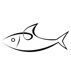 fish vector image vector image