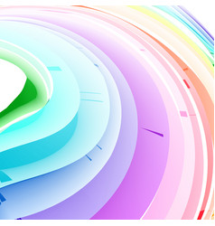 Pastel abstract rainbow gradient mesh multi color vector