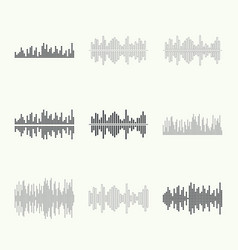 Music sound wave vector