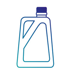 Gallon plastic isolated icon vector