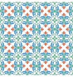 Multicolor pattern vector