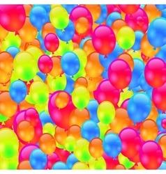 Colorful ballons vector