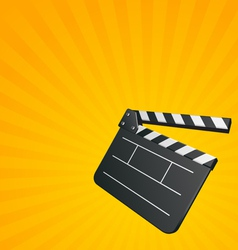 cinema background vector image