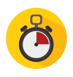 Timer clock icon vector