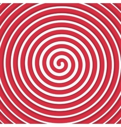 Background red spiral vector