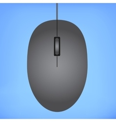 Black mouse vector