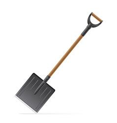 garden tool shovel 03 vector image vector image
