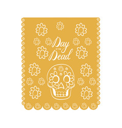Mexican day of the death vector